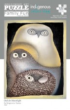 Ningiukulu Teevee: Owls in Moonlight Puzzle