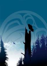 Mark Preston: Raven's Lookout Matted Print