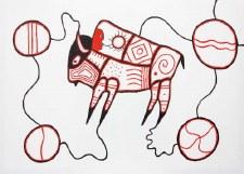 Dave Pelletier: Bison Matted Print