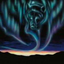 Amy Keller-Rempp: Sky Dance - Bear, Matted Print
