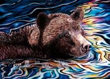 Amy Keller-Rempp: Spirit River Matted Print