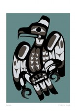 Dick Francis: Raven Matted Print
