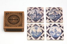 Rubenshuis Marble Tile Coasters