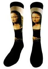 Leonardo da Vinci: Mona Lisa Socks
