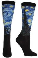 Vincent Van Gogh: Starry Night Socks