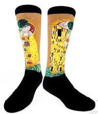 Gustav Klimt: The Kiss Socks