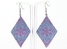 Suzy Kies: Lavender Woodlands Earring