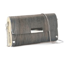Sol Designs: Dark Grey Clutch