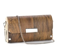 Sol Designs: Walnut Clutch