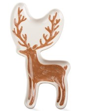 Handpainted Stag Plate