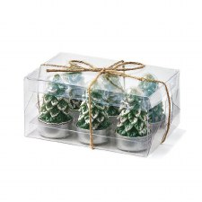 Spruce Tealight Candles - Green