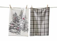 Winter Sketch Tea Towel