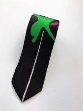 Jack Bush: Zing Green Silk Tie