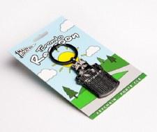 Toronto Raccoon Keychain