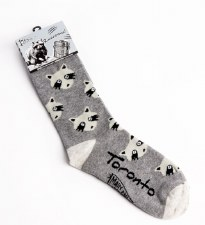 Toronto Raccoon Socks