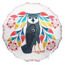 Kenojuak Ashevak: Owl's Bouquet Umbrella