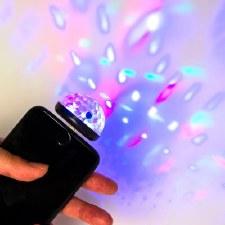 Disco Ball Phone Light
