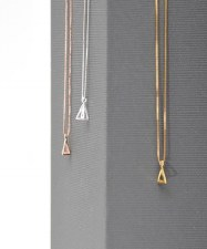 Necklace - Pinnacle Polished Gold