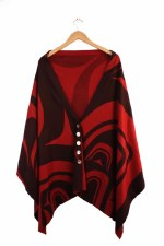 Spirit Wrap - Modern - Scarlet Long