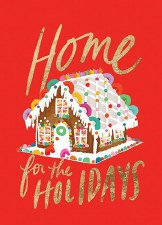 Gingerbread House - Holiday Cards