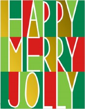 Happy Merry Jolly - Holiday Cards