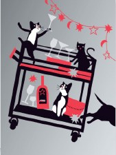 Crazy Cats - New Year Cards