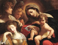 Carracci, Dream of St. Catherine - Holiday Cards