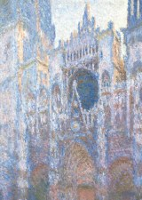 Claude Monet, Rouen Cathedral West Facade - Holiday Cards