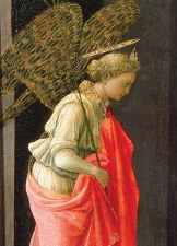 Fra Filippo Lippi, The Annunciation - Holiday Cards