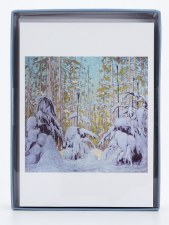 Holiday Notecards  AGO  Collection: Lawren S. Harris, Winter Woods