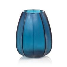 Zodax Cape Verde Hand Made Glass Vase