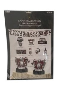 10Pk Halloween Decorating Kit
