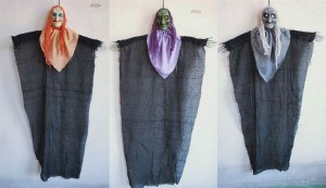 120cm Hanging Witch Prop