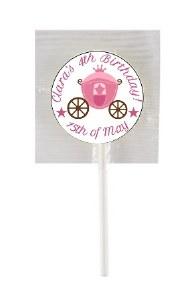 15PK Birthday Girl Lollipops