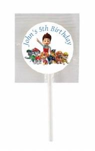 15Pk Paw Patrol Lollipops
