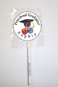 15Pk Preschool Grad Lollipops