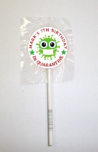 15Pk Quarantine Lollipops