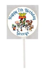 15Pk Toy Story Lollipops