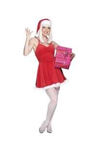 Miss Flirty Santa Costume