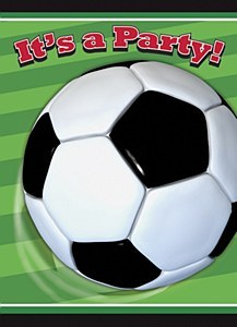 Soccer Party Invitations