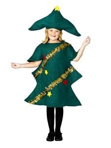 Girl Christmas Tree Costume
