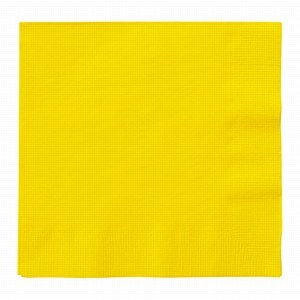 Sunflower Yellow Paper Napkins