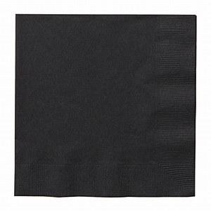 Midnight Black Napkin