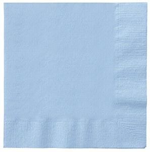Baby Blue Paper Napkins