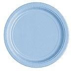 Powder Blue Paper Plates