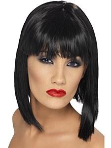 Glam Black Wig