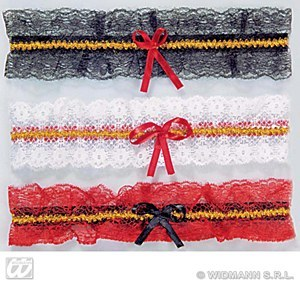Red Lace Garter