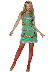 Lady Christmas Tree Costume