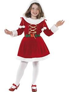 Little Girl Santa Costume