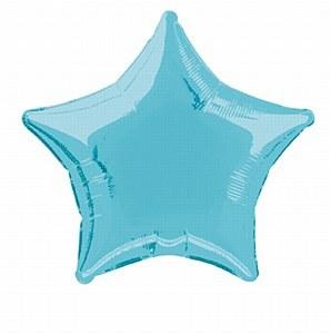Blue Star Foil Balloon